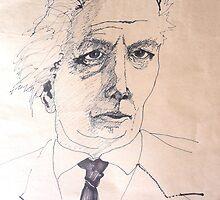 Portrait Study 44. by Richard  Tuvey