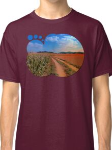 Hiking trail into beautiful scenery II | landscape photography Classic T-Shirt