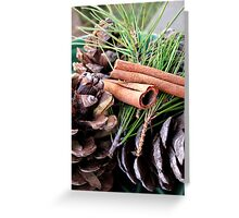 Pine Needles and Cones Greeting Card