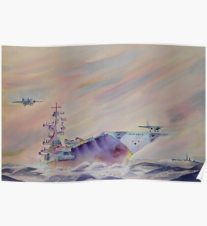 Air Operations - U.S. Navy Poster