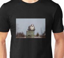 Gull on Piling Unisex T-Shirt
