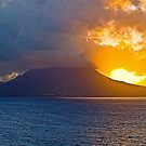 Sunrise In Tortola by Memaa