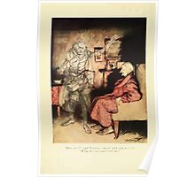 A Christmas Carol by Charles Dickens art by Arthur Rackham 1915 0008 How Now said Scrooge Poster