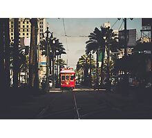 Canal St. Photographic Print
