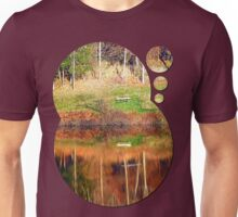 Water reflections on the river | waterscape photography Unisex T-Shirt