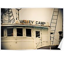 Valley Camp - Retired Freighter Poster