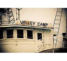 Valley Camp - Retired Freighter Photographic Print