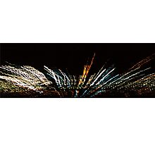Light Explosion Photographic Print