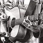Oscar Plays Guitar by dbclemons