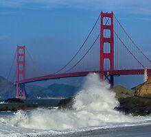 Golden Gate Bridge by Marylee Pope