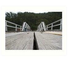 Trestle Bridge Art Print