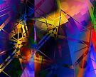 Kandinsky Colour Improvisation No.1 by viennablue