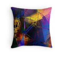 Kandinsky Colour Improvisation No.1 Throw Pillow