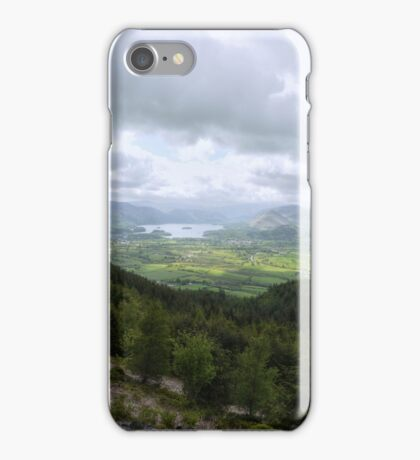View of the Lake District, England iPhone Case/Skin