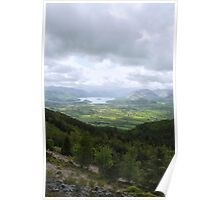View of the Lake District, England Poster
