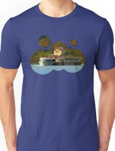 Cruise ship on the river Danube | waterscape photography Unisex T-Shirt