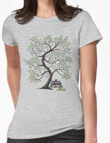 a perfect afternoon Womens Fitted T-Shirt