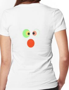 Funny Face T-Shirt Womens Fitted T-Shirt