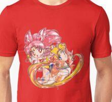 Super Sailor Moon & Chibi Moon (edit 2/A) Unisex T-Shirt