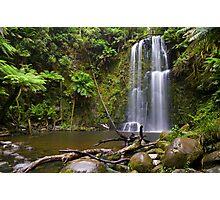 Beauchamp Falls Photographic Print