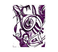 Lila pattern by ArtGenovee
