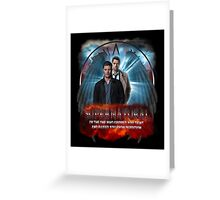 Supernatural I'm the one who gripped you tight and raised you from Perdition 2 Greeting Card