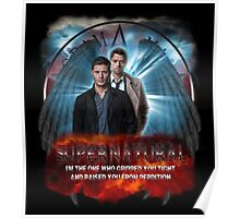 Supernatural I'm the one who gripped you tight and raised you from Perdition 2 Poster