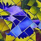 Eagle mosaic by amira