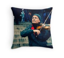 we are the music-makers, and we are the dreamers of dreams Throw Pillow