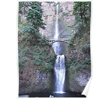 Maltnomah Falls---Columbia River Gorge-- Oregon Poster