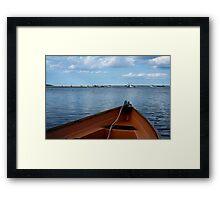 Boat Bow, Chatham Framed Print