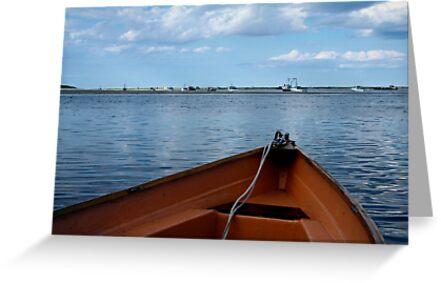 Boat Bow, Chatham by Nancy Bray
