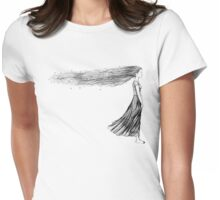 swept away Womens Fitted T-Shirt