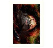 Hotel California - Collab with Jacqui (vampvamp) Art Print