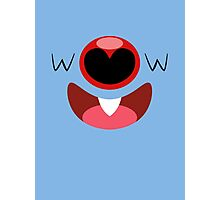 Pokemon - Woobat / Koromori Photographic Print