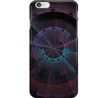 Tech Tunnel Time Wheel iPhone Case/Skin