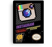 NES Instagram Canvas Print