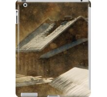 Snowstorm in the magic hour iPad Case/Skin