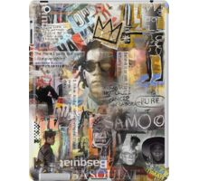 jean michel basquiat iPad Case/Skin