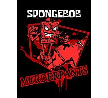 Spongebob Murderpants Photographic Print
