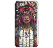 Native American Female iPhone Case/Skin