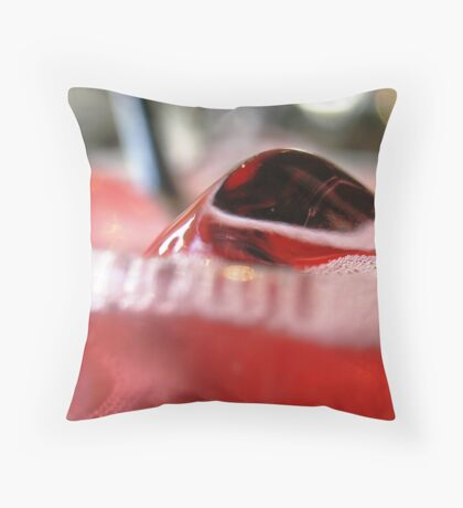 Icy Refreshment! Throw Pillow