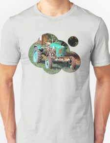 Old traditional Lindner tractor | conceptual photography T-Shirt