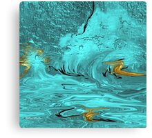 Untitled Abstract 102-  Art + Products Design  Canvas Print
