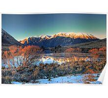Lake Pearson - Winter dawn Poster