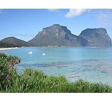 Lord Howe Island Vista Photographic Print