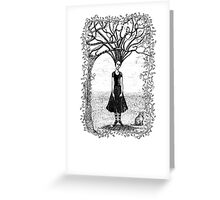 tangled t Greeting Card