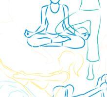 Morning Yoga Sticker