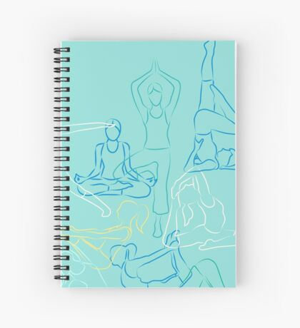 Morning Yoga Spiral Notebook