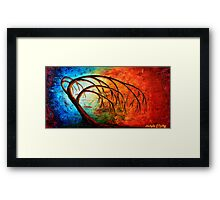 Reaching for Mother Earth Framed Print